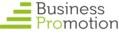 Business promotion logo